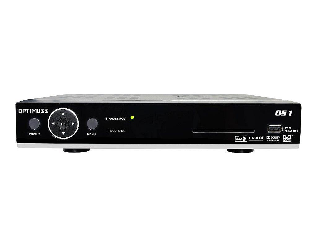 OPTIMUSS OS 1 HDTV Linux Sat Receiver 2TB Festplatte