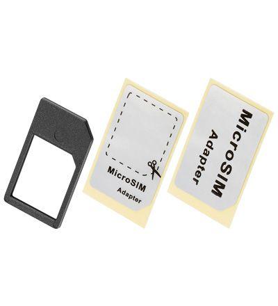goobay SIM-Kartenadapter von Micro SIM auf SIM Format (Micro SIM Adapter)
