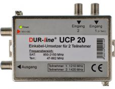 DUR-line UCP 20 Einkabell�sung Unicable (2 Receiver...