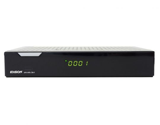 Edision argus piccollo 3in1 plus CI HD Receiver Sat Kabel...