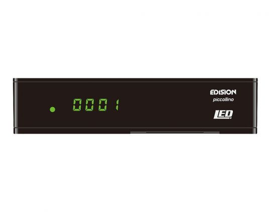 Edision piccollino LED Full HD Sat Receiver schwarz