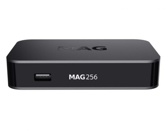 Infomir MAG 256 IPTV-Set-Top-Box Full HD schwarz
