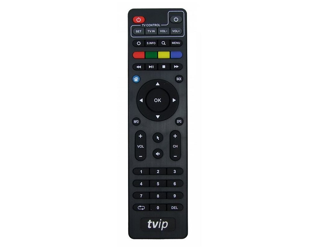 tvip fernbedienung f r iptv box 410 412 original. Black Bedroom Furniture Sets. Home Design Ideas